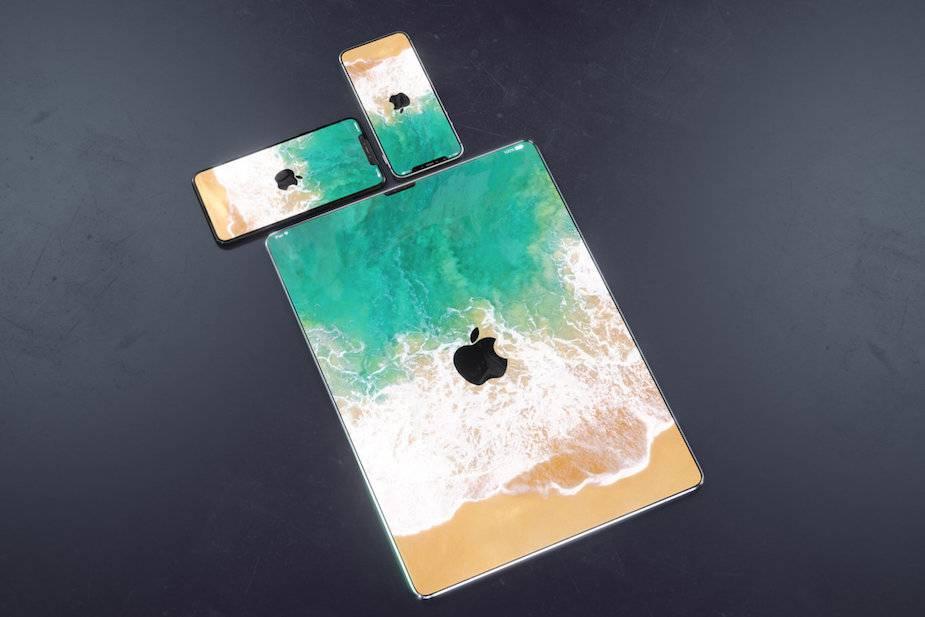 bezramkowy iPad, iPhone