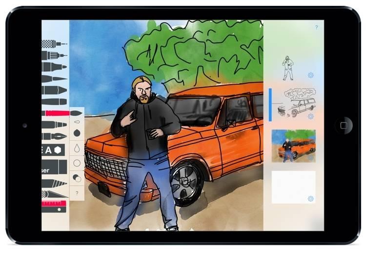 Tayasui Sketches II Pro