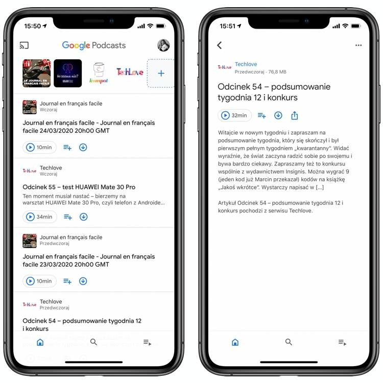 Google Podcasts iOS