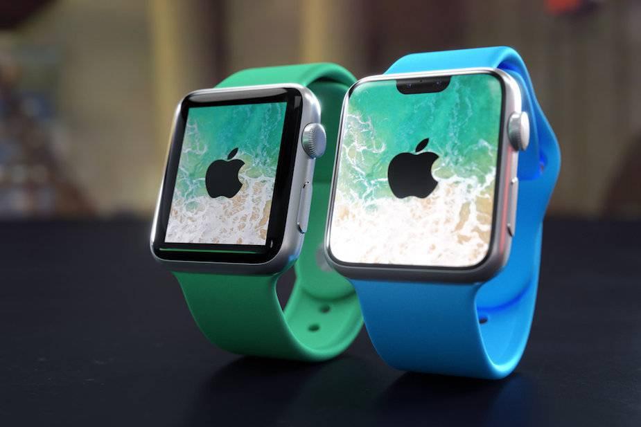 bezramkowy Apple Watch