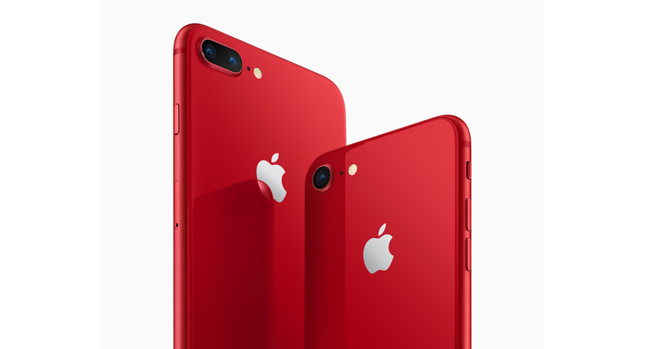 iPhone 8/iPhone 8 Plus PRODUCT(RED)