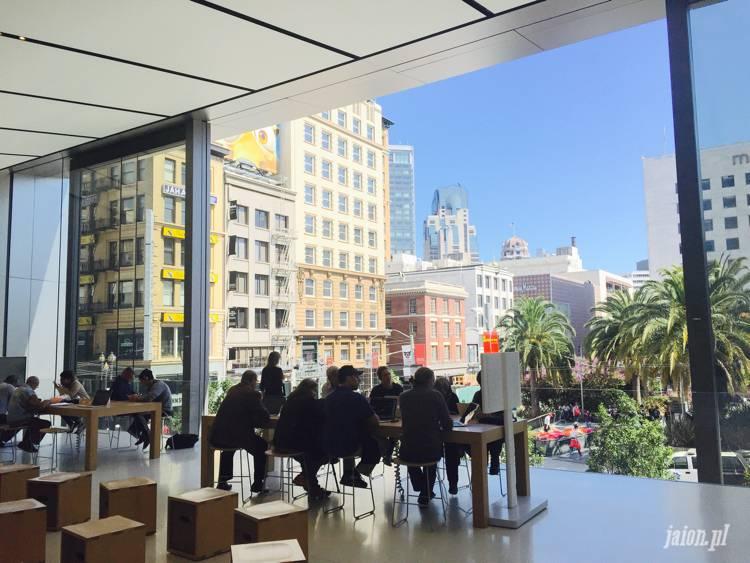 Sklep Apple Store San Francisco