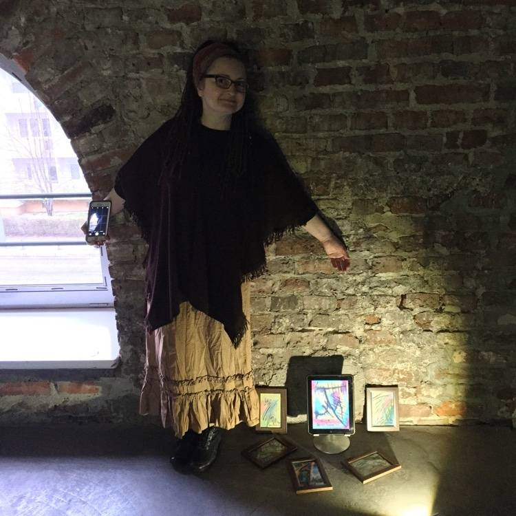 Lucyna Pawlak, iPad 1 i jej abstrakcje