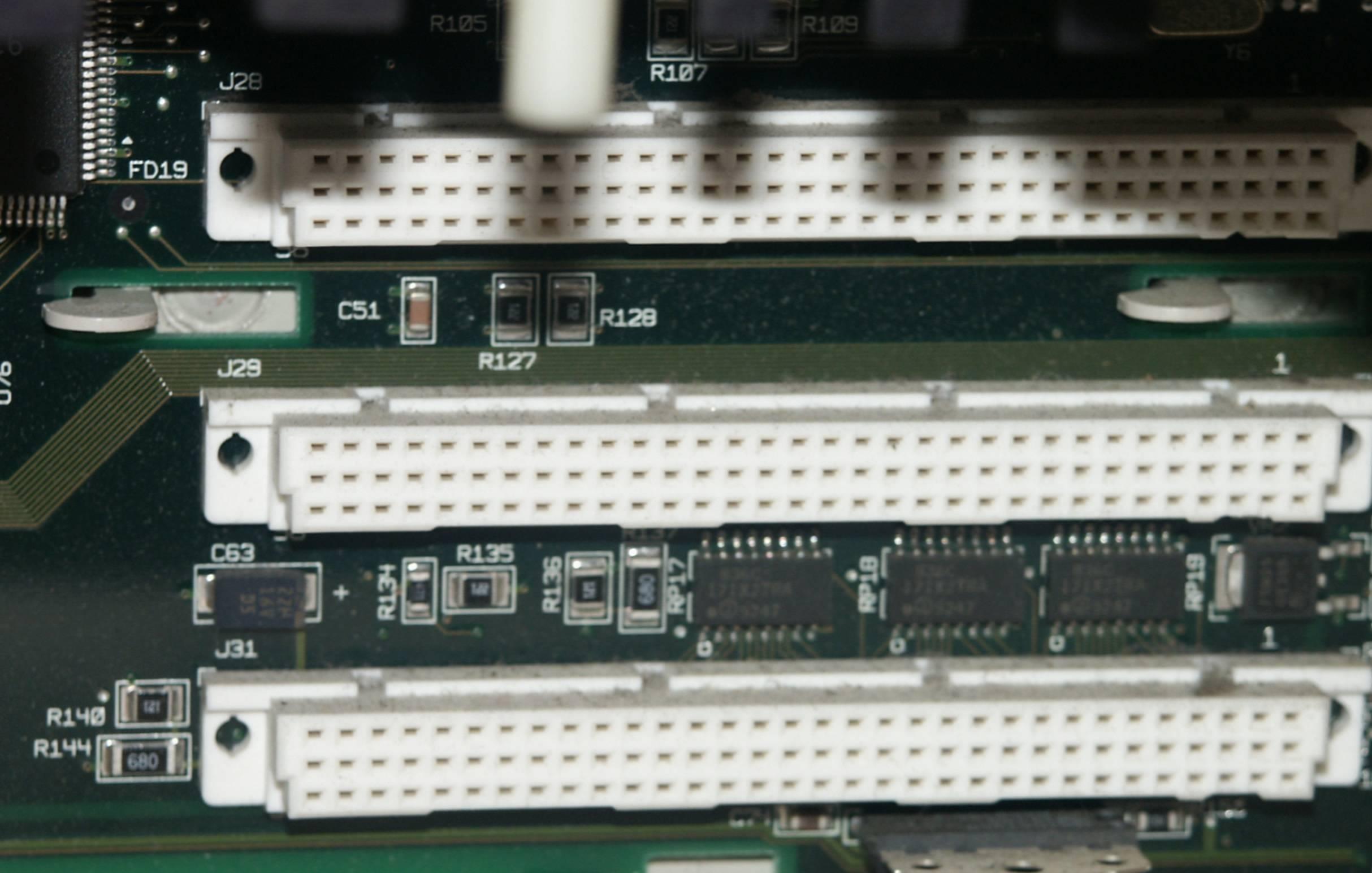 Sloty NuBUS w starych Macintoshach