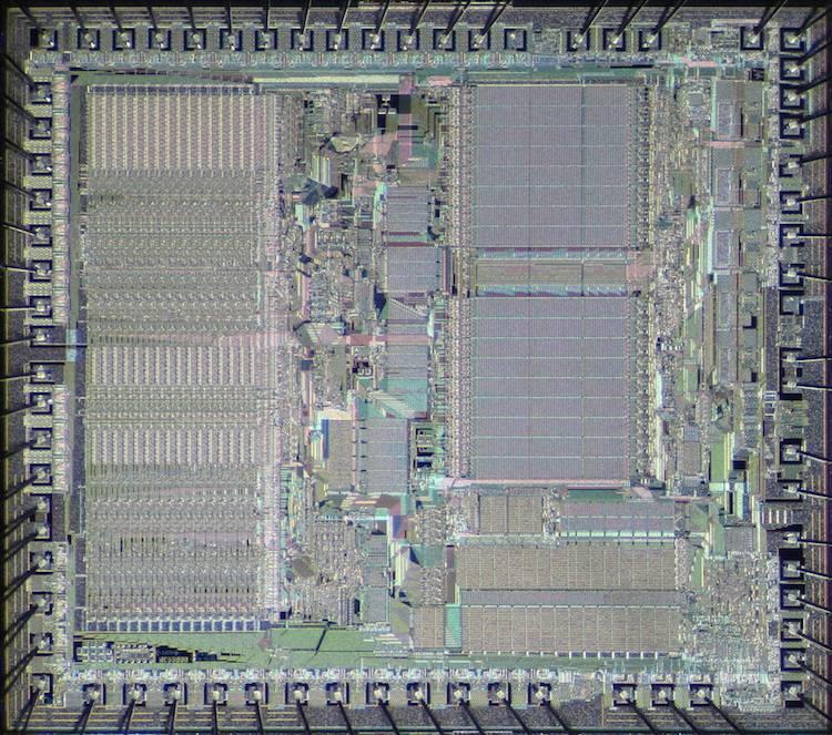 Motorola M68000 stosowana w pierwszych Macach, Amigach i Atari ST