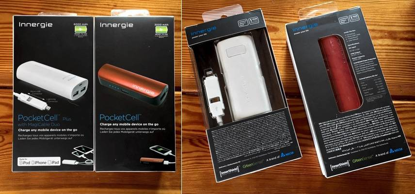 Power bank PocketCell Innergie