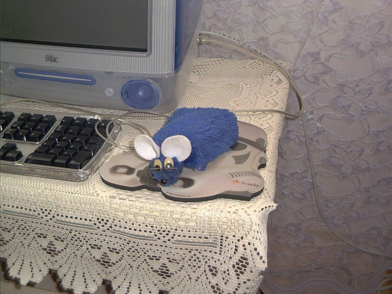 iMac G3 i mysz