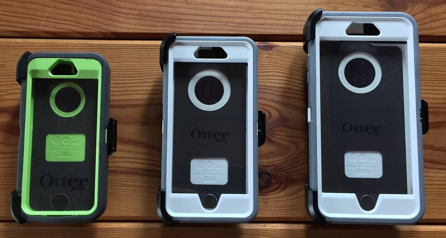 Otterbox Defender na iPhone 5s, iPhone 6  i iPhone 6 Plus