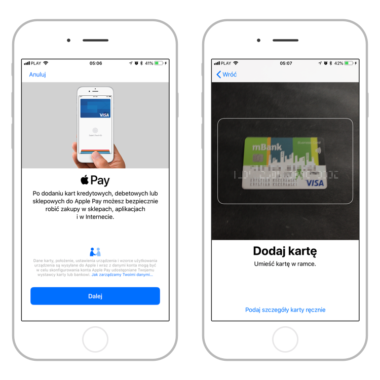 Apple Pay mBank