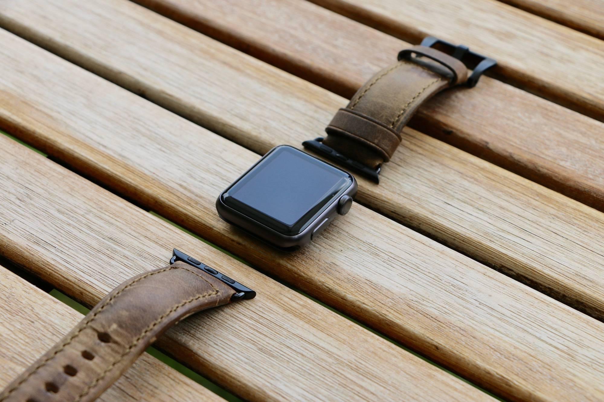 nomad strap z apple watch