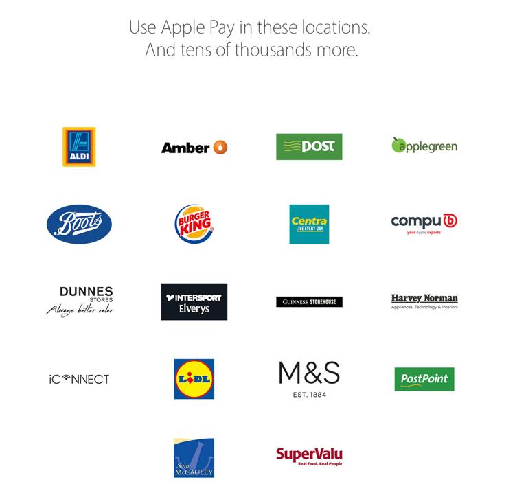 Apple Pay Ireland