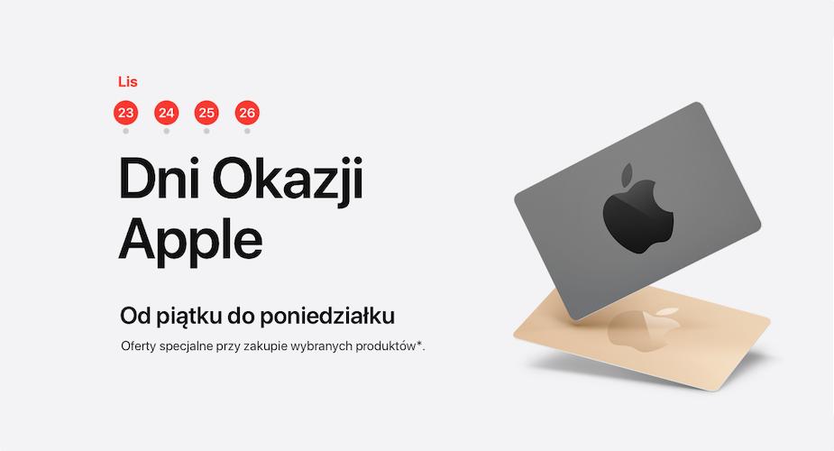 Czarny Piatek W Internetowym Sklepie Apple Myapple Pl