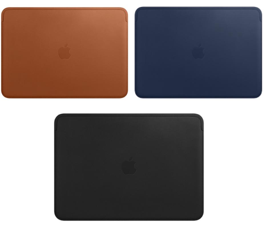 Skórzane etui Apple dla MacBooka