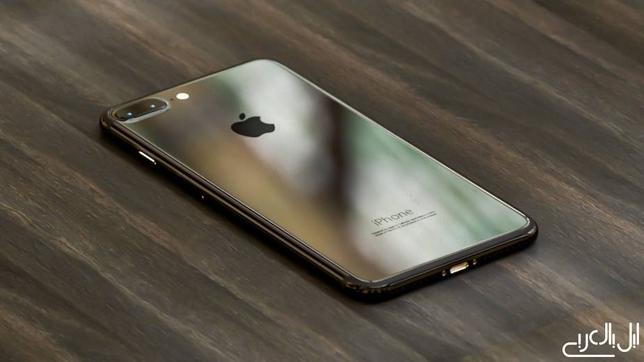 iPhone 7 plus piano black back