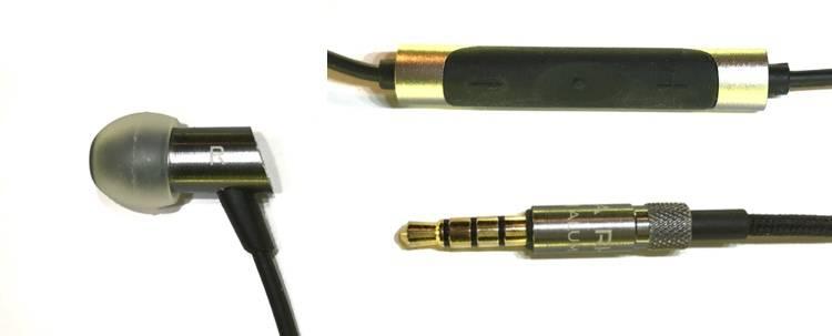Słuchawki RHA S500i szczegóły wyglądu