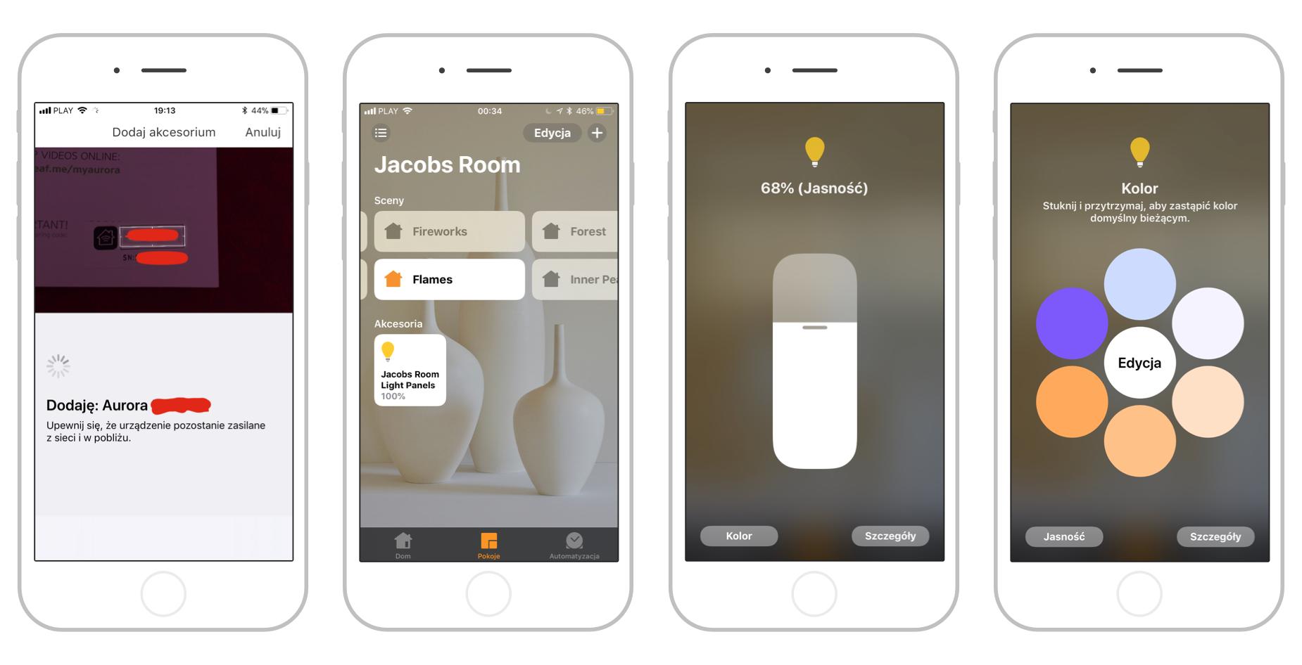 iOS Home app Nanoleaf