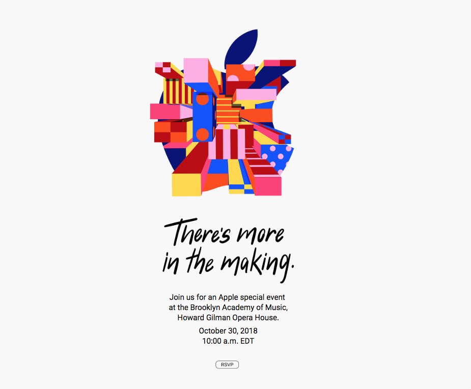 Apple Special Event 30.10.2018