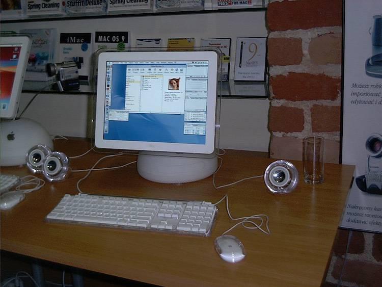 iMac G4 (otwarcie 1. salonu iSpot we Wrocławiu