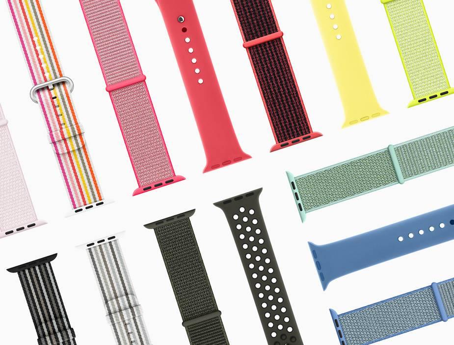 Wiosenna kolekcja pasków do Apple Watcha
