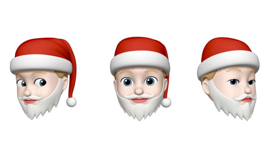 Memoji Święty Mikołaj