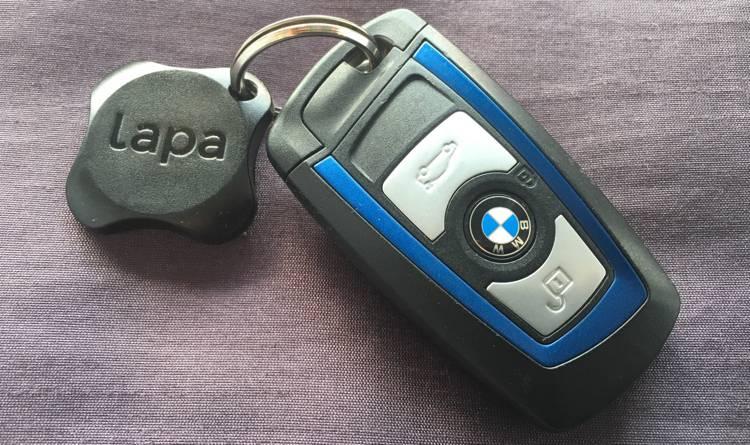 Lapa 2 BMW klucze