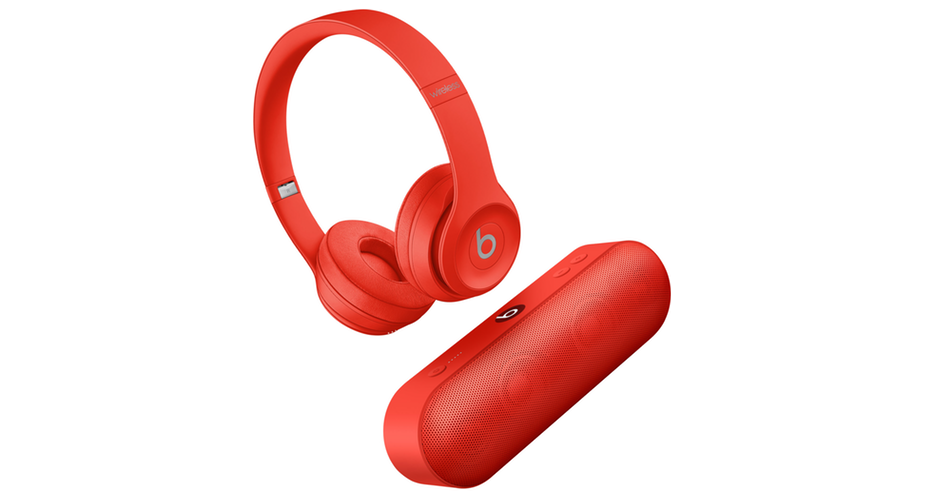 Beats Solo 3/Beats Pill+ PRODUCT(RED)