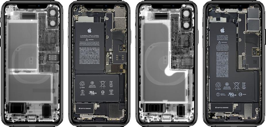 Wnętrze iPhone'a XS/XS Max