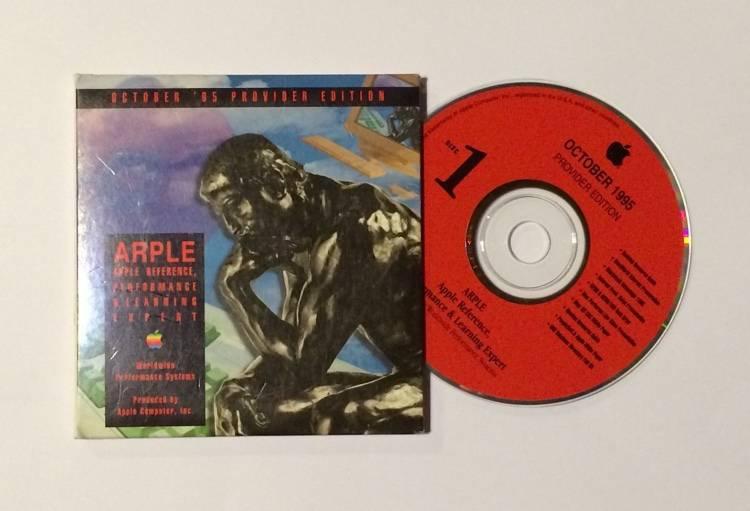 ARPLE dyski CD z materiałami marketingowymi dla sprzedawców Apple
