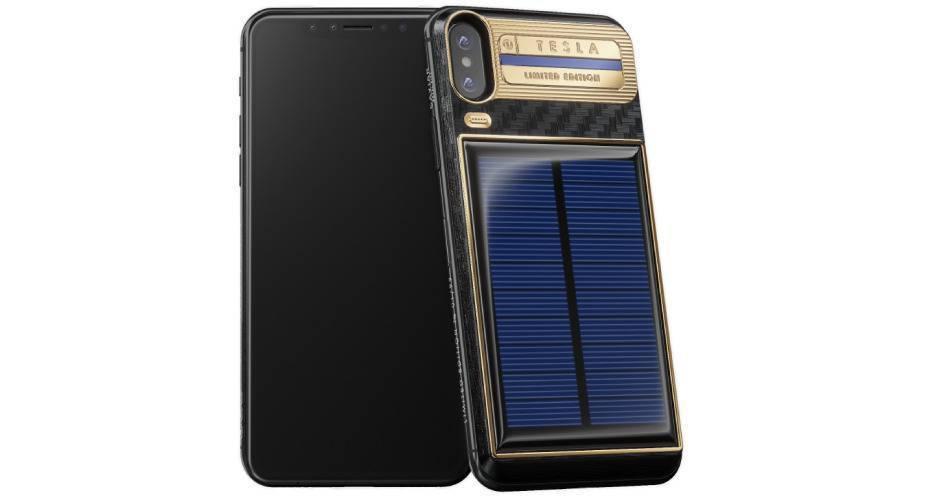 Rewelacyjny iPhone X Tesla - luksusowa wersja flagowego smartfona firmy Apple HS09