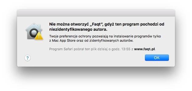 Gatekeeper w macOS 10.12 Sierra beta 1