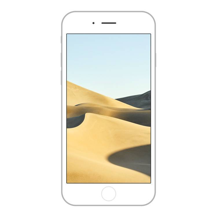 macOS Mojave wallpaper for iPhone