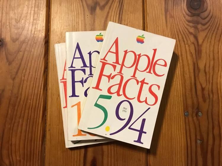 Apple Facts książeczki dla sprzedawców