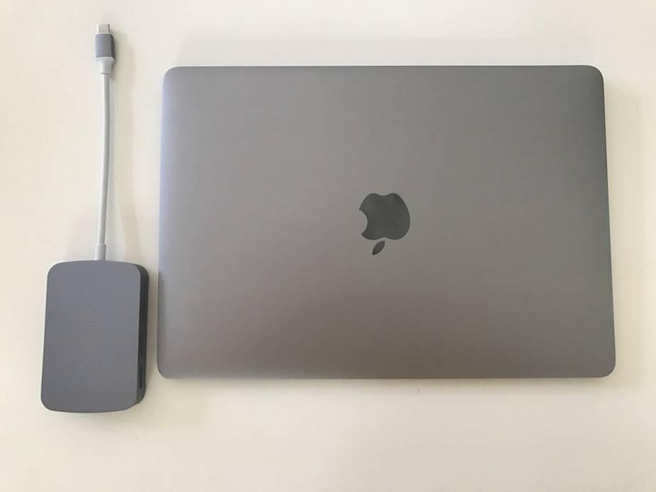 "Minix Neo C z MacBook 12"""