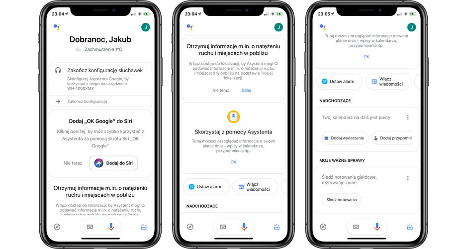 Google Assistant available in the Polish App Store