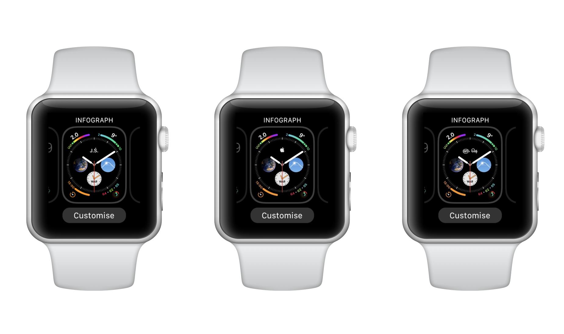 Monogram w Apple Watchu