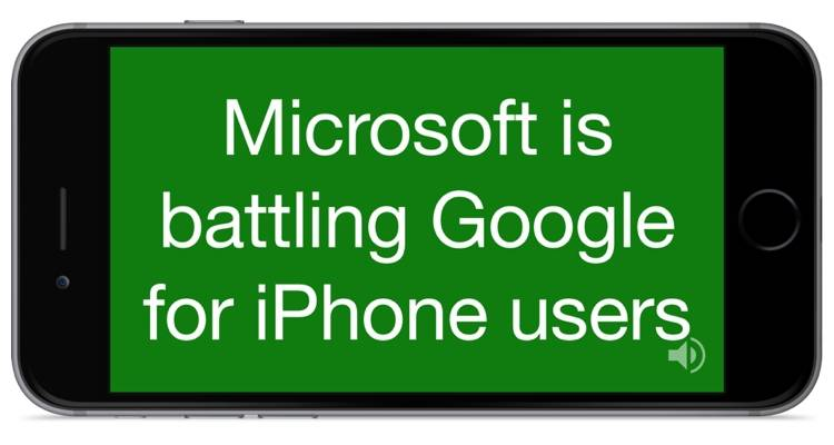 Microsoft Translator iPhone